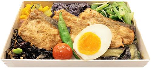 銀鮭胡麻醤油焼き